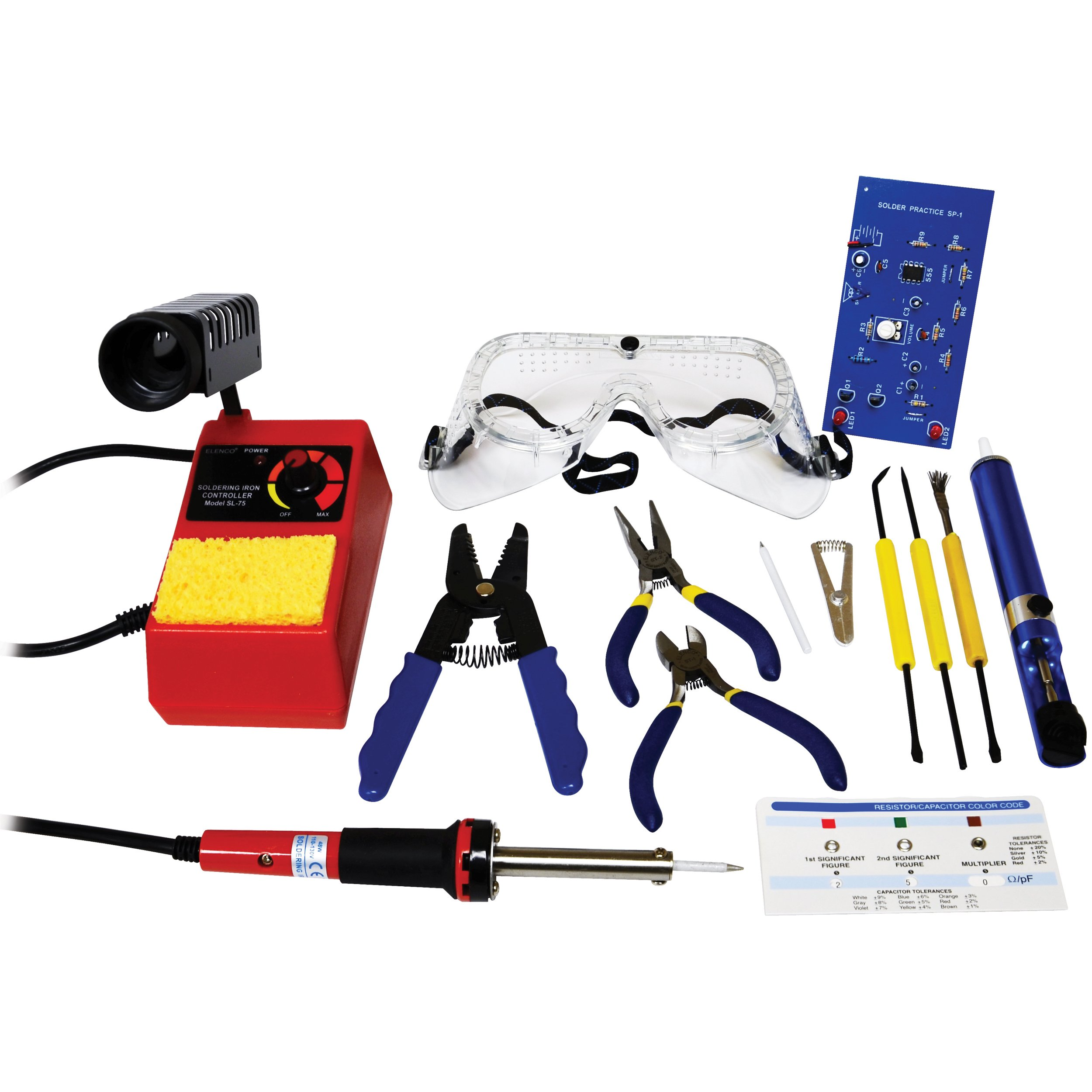 Elenco - Fundamentals of Soldering Kit with Tools