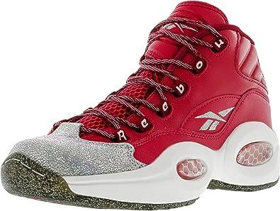 Amazon Com Reebok Girl S Question Mid Ankle High Basketball Shoe