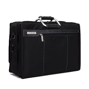 NUMANNI ビジネスバッグ 2way メンズ 大容量 ブラック1