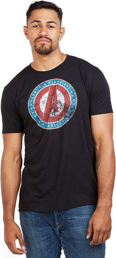 Marvel Mightiest-Mens T Shirt XXL Camiseta, Negro (Black Blk), XX-Large para Hombre: Amazon.es: Ropa y accesorios