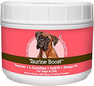 product image for Herbsmith Taurine Boost - Cardiac and Heart Support for Dogs and Cats - Taurine Supplement for Dog and Cat Heart Health