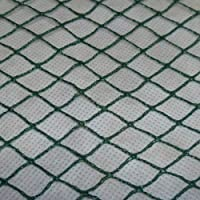 Aquagart Teichnetz, 4m x 6m, dunkelgrün, engmaschig: Maschenweite 15mm x 15mm, Laubnetz, Teichabdecknetz, Vogelabwehrnetz, Reihernetz robust