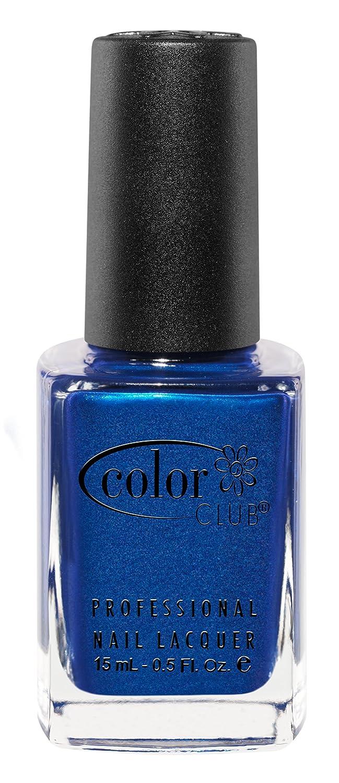 Amazon.com : Color Club Poptastic Neons Nail Polish, Blue, Trippie ...