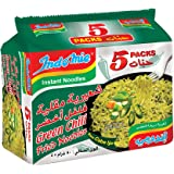 Indomie Green Chilli Fried Noodles, 5 X 80 gm