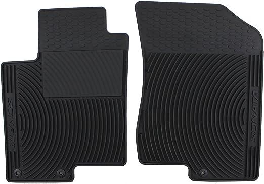 Genuine Hyundai Accessories U8130-2M600 Rear All Weather Floor Mat for Hyundai Genesis Coupe