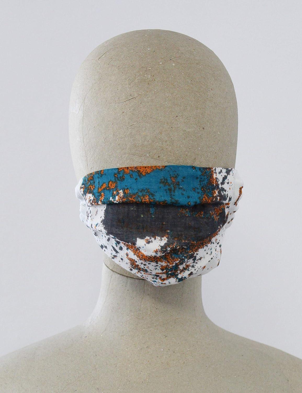 Viele verschiedene Styles Made in Germany FRAAS Mund und Nasenmaske aus Baumwolle Unisex Behelfsmaske Waschbar /& Wiederverwendbar Einheitsgr/ö/ße