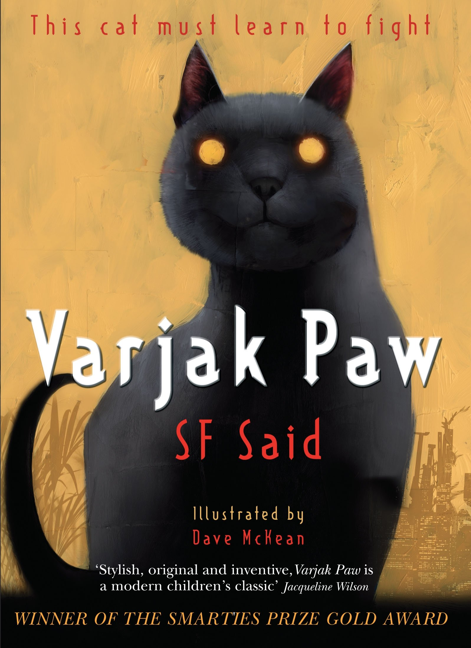 Varjak Paw: Amazon.co.uk: Said, SF, McKean, Dave: 9780552572293: Books
