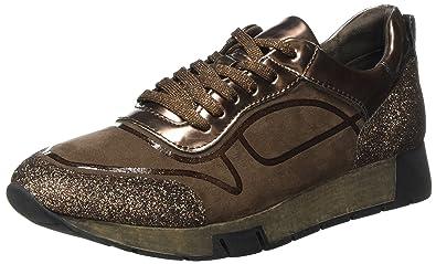 23718, Sneakers Basses Femme, Marron (Chocolate Comb), 41 EUTamaris