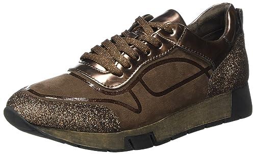 Tamaris 23718, Zapatillas para Mujer, Marrón (Chocolate Comb), 36 EU