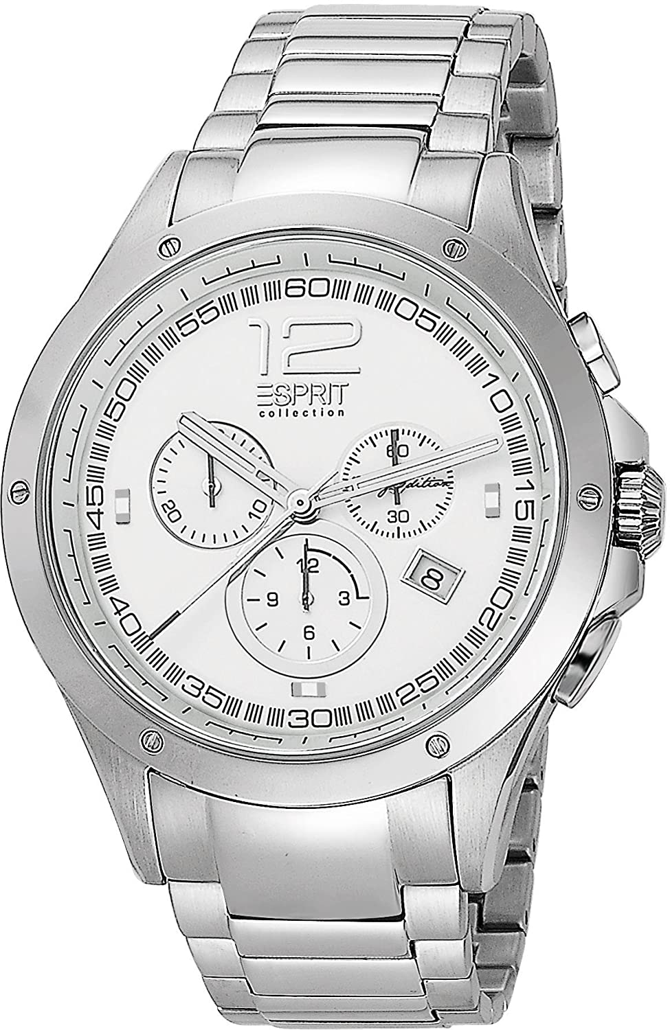 Esprit Collection Quarzuhr Man Atropos Silver