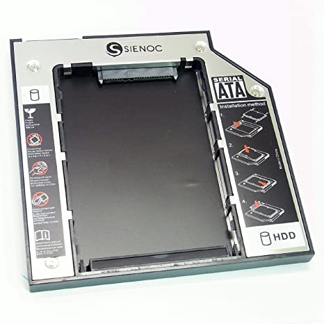 SIENOC universal Second SATA HDD/SSD Caddy disco duro marco ...