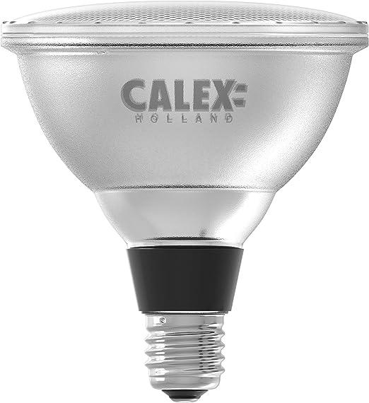Calex Bombilla LED E27 240V 15W PAR38 blanco cálido para estacas de jardín: Amazon.es: Iluminación