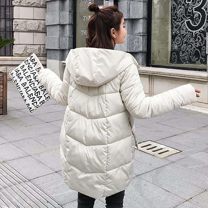 Long Down Parkas Women Down Jacket Winter Coat Cotton Padded Jacket Woman Winter Jacket Coat Female New 2018 at Amazon Womens Coats Shop