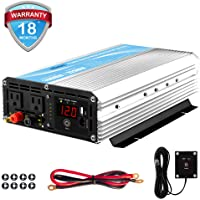 Giandel 1,600-watt Power Inverter with 20A Solar Charge Controller and Remote Control