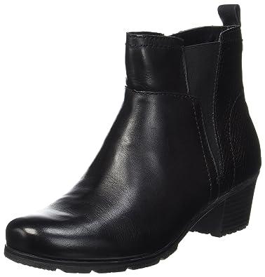 Jana Damen 25312 Chelsea Boots, Schwarz (Black), 39 EU