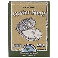 Down to Earth Organic All Natural Oyster Shell Fertilizer, 1 lb