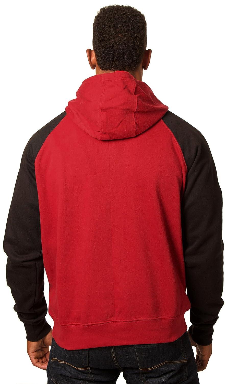 JH DESIGN GROUP Men/'s Honda Wing Logo Hoodie a Sweatshirt for Men in Red /& Black HON9P3RG25