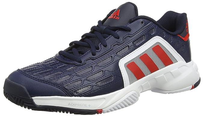 adidas Barricade Court 2, Zapatillas de Tenis para Hombre, Azul (Maruni/Rojint/Ftwbla), 43 1/3 EU: Amazon.es: Zapatos y complementos