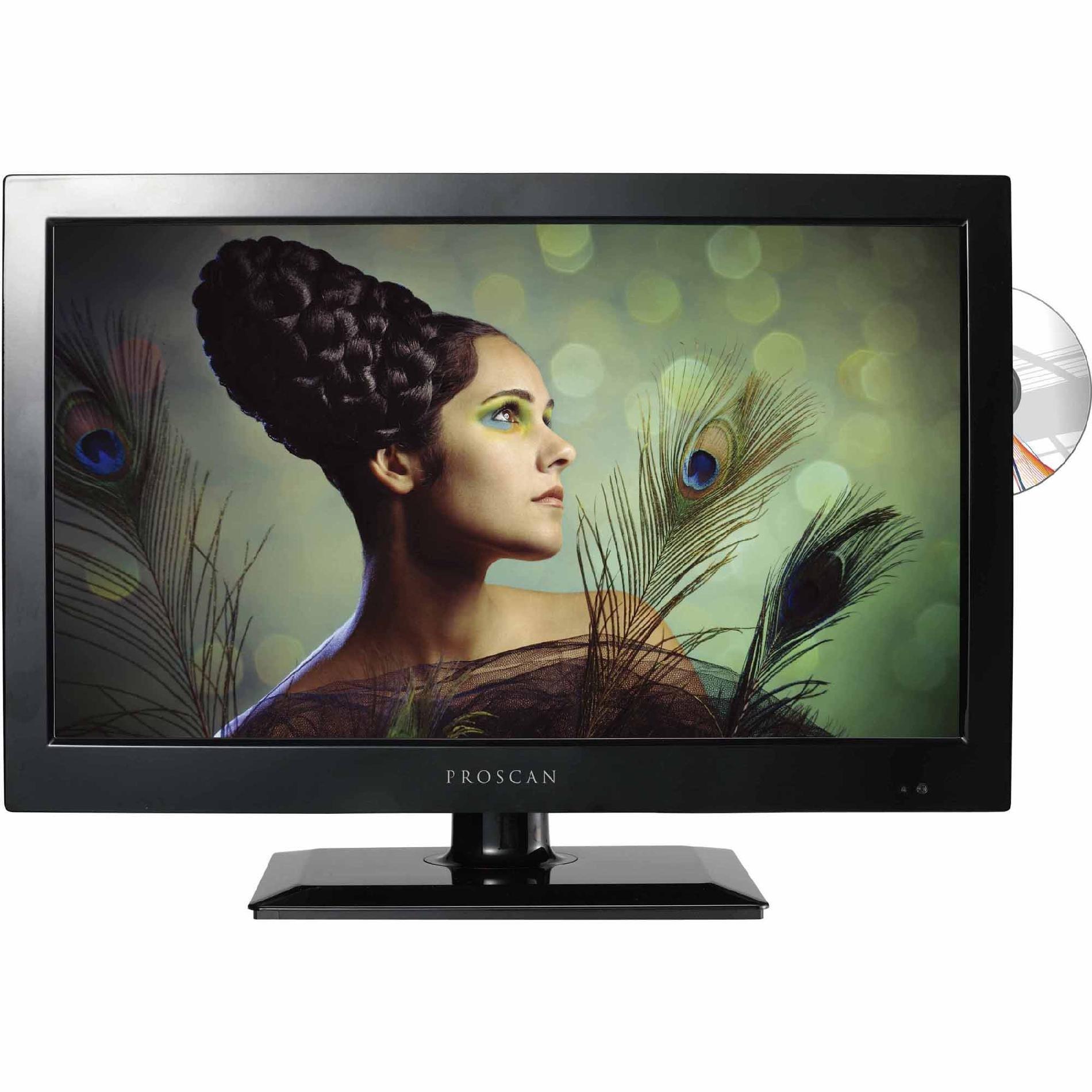 Proscan 32'' LED 720P HDTV-DVD Combo PLDV321300 (Black) by Curtis
