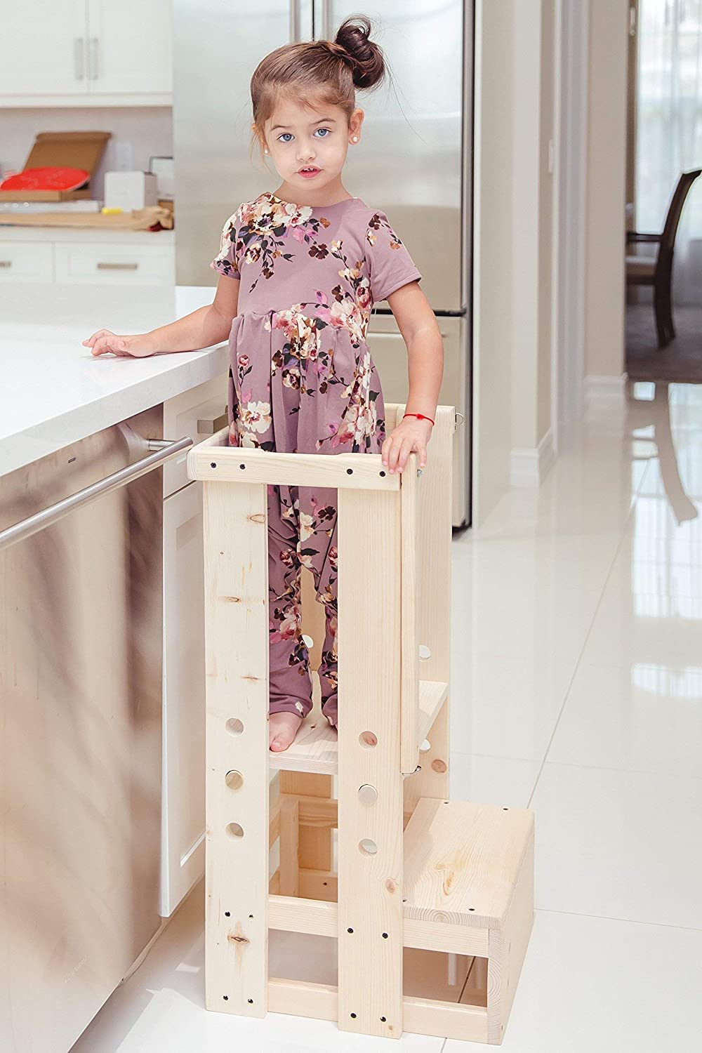 Toddler Safety Stool, Kitchen Helper