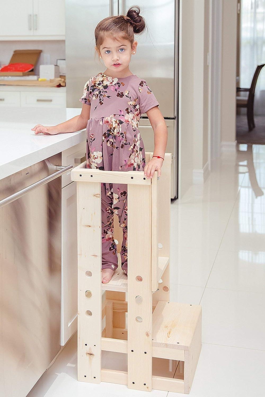 Toddler Safety Stool, Kitchen Helper