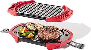 Lékué Microwave Grill, Red microondas, Acero, rojo y negro: Amazon.es
