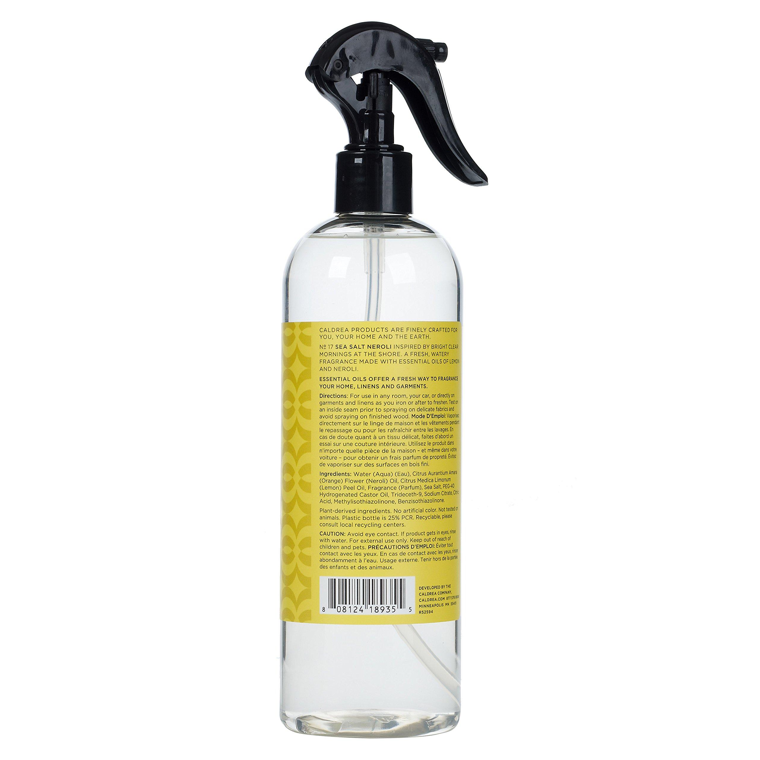 Caldrea Sea Salt Neroli Linen and Room Spray Air Freshener 16 oz by Caldrea (Image #2)