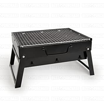 Barbacoa portátil | Parrilla de carbón plegable | Asador ...