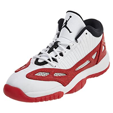 new arrivals ab33a 5a9a0 Nike Air Jordan 11 Retro Low BG Big Kid s Basketball Shoes White Gym Red  Size