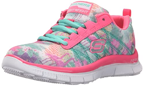 SkechersSkech AppealFloral Bloom - Zapatillas Niñas, Color Rosa, Talla 37