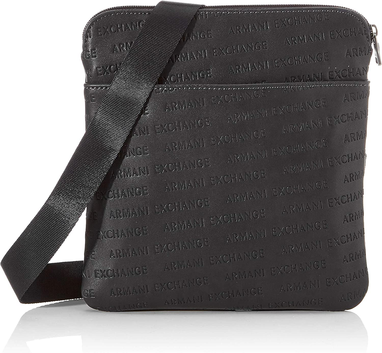 Armani Exchange - Small Crossbody Bag, Bolso bandolera Hombre