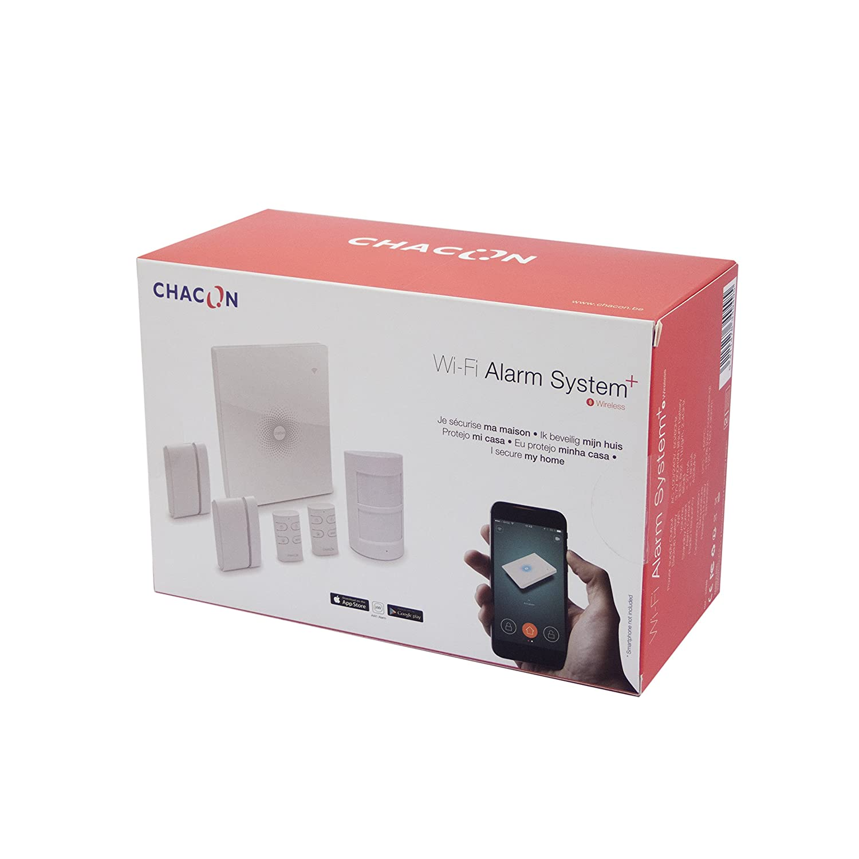 Chacon 34949 Sistema de alarma WiFi con aplicación móvil
