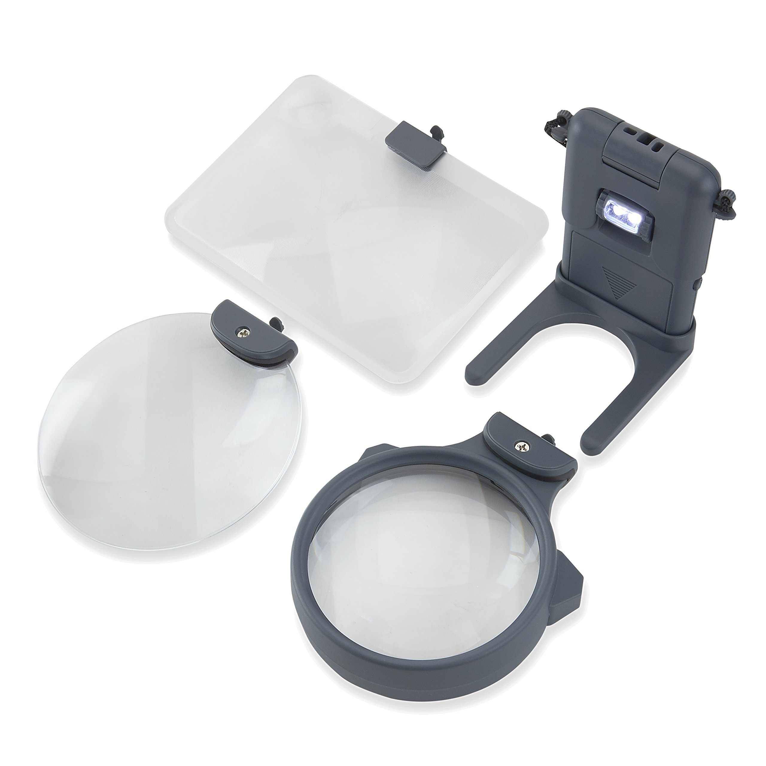 Carson 3-in-1 LED Lighted Magnifying Glass (HM-30) by Carson (Image #4)