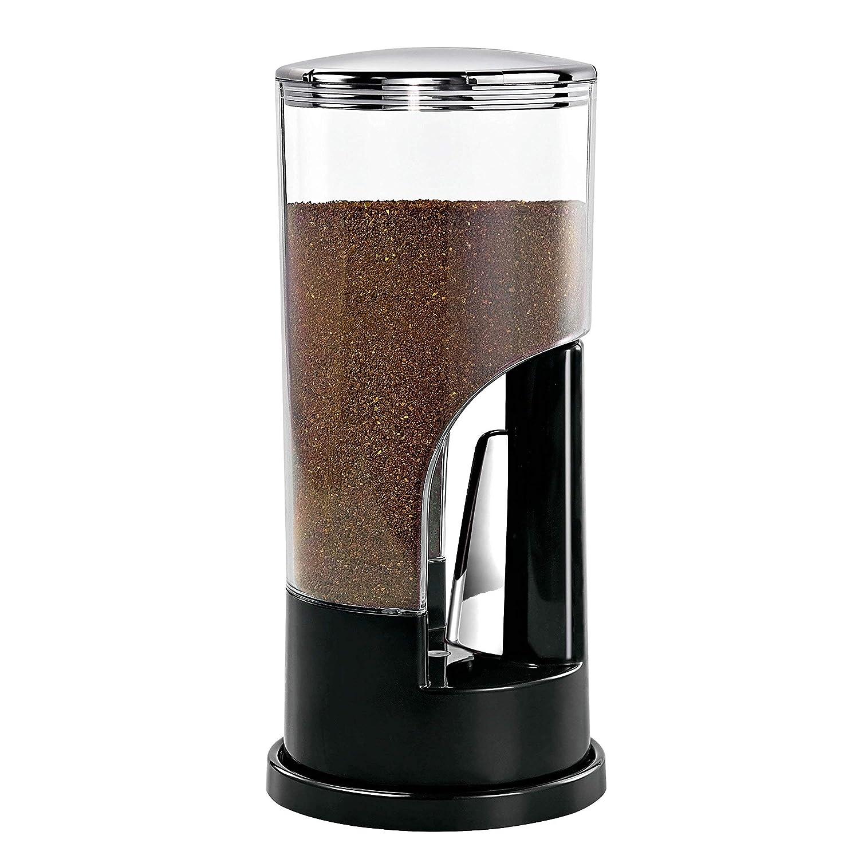 Zevro KCH-06079 Indispensable 1/2-Pound-Capacity Coffee Dispenser, Black