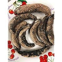 Alaska Red Sea Cucumber-Wild Caught Dried Natural-8oz 阿拉斯加红参,野生捕捞,晒干