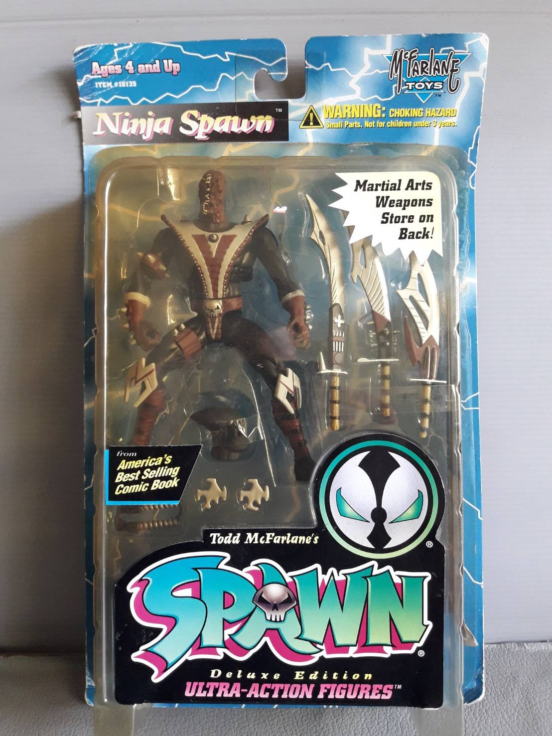 Spawn Series 3 Ninja Spawn Action Figure: Amazon.es ...