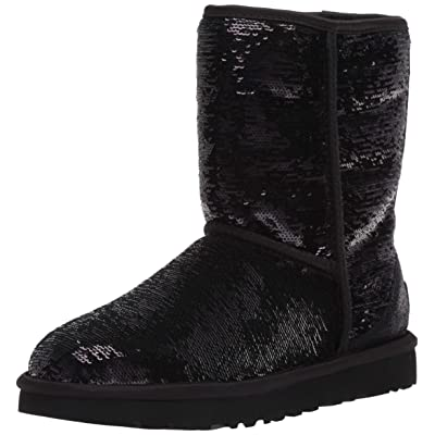 UGG Women's Classic Short Cosmos Sequin Fashion Boot | Shoes