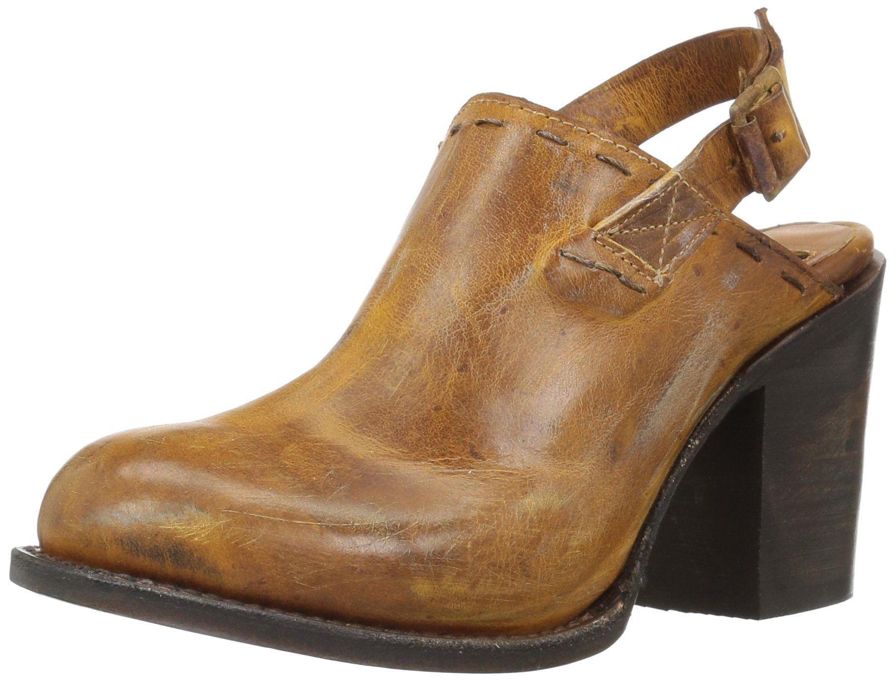 Freebird Women's Gold Mule, Tan, 8 M US by Freebird by Steven