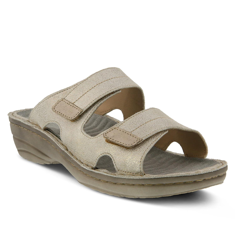 Spring Step Women's Marsela Flat Sandal B01N775X87 42 M EU (US 10.5 - 11 US)|Silver