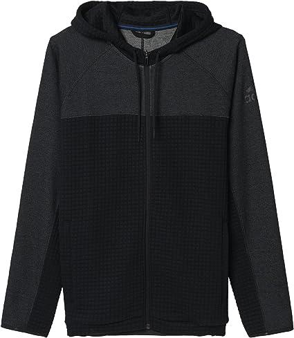 adidas ATC Zip Jacket Veste zippé Homme, Noir, FR : XXL