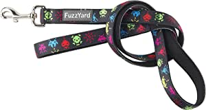Fuzzyard Dog Collar & Leash (Space Raiders, Large Lead)
