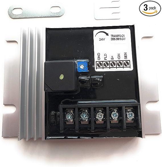 Voltage Regulator 24V Replaces 10503805
