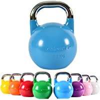 MSPORTS Kettlebell Competition Premium Kettlebell, 4-36 kg, incl. poster met oefeningen, professionele studiokwaliteit…