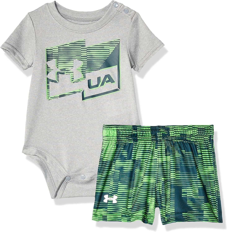 Under Armour Baby Boys Big Logo Short Sleeve Tee Shirt