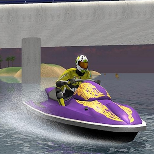 Jumping Speed Boat Race (Jet Boat Racing)