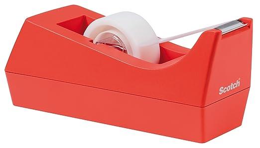 100 opinioni per 3M 70005293660 Scotch Dispenser Ricaricabile e 1 Magic Tape Rotolo Nastro, 19 mm