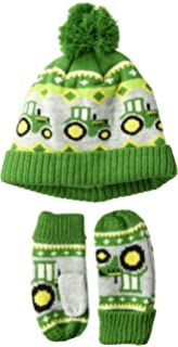 John Deere Boys Toddler Winter Cap, Green
