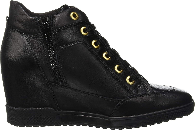 Actualizar ratón o rata Estéril  Geox Women's D Carum C Low-Top Sneakers: Amazon.co.uk: Shoes & Bags