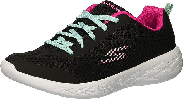 Skechers Go 600 fun Run, Baskets Fille: