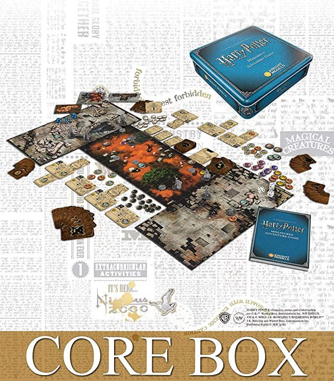 Amazon Com Knight Models Hpmag01 Harry Potter Miniatures Adventure Game Core Box Mixed Colours Toys Games